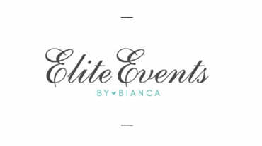 Elite Events by Bianca, logo design