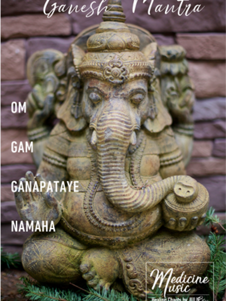 Ganesh Mantra - Art card