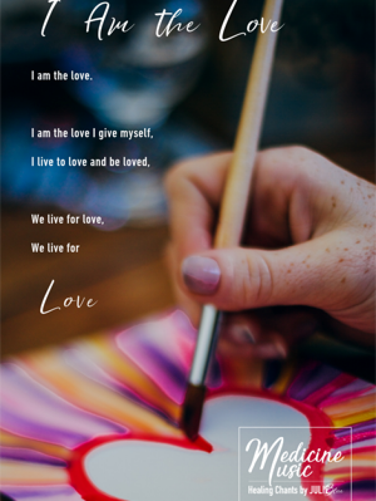 I am the love - Art card