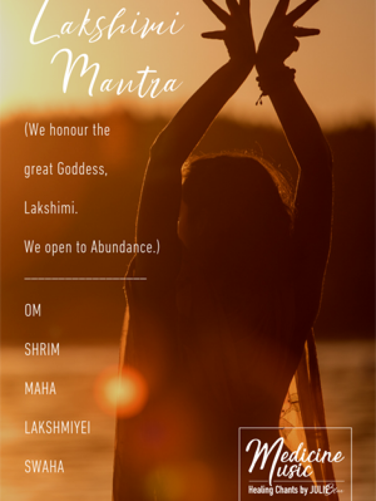 Lakshimi Mantra - Art card