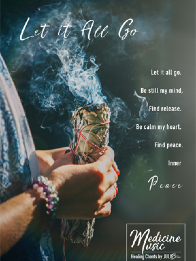 Let it all go - Art card