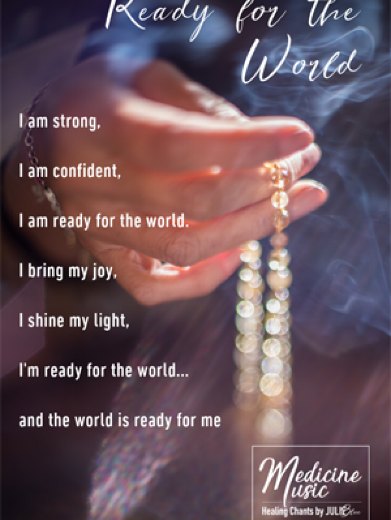 Ready for the world - Art card